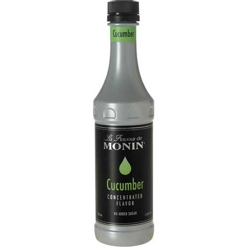 Monin Cucumber Concentrated Flavor, 375 Milliliter -- 4 per case. by Monin
