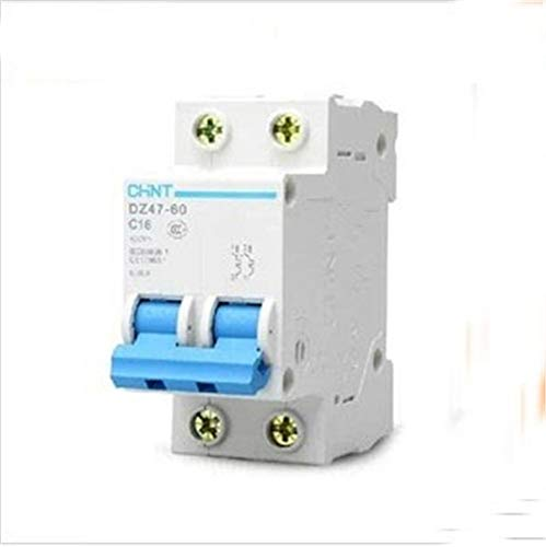 XIONGXI Miniature Miniature Circuit Breaker DZ47 2P 10A-60A air Switch Leakage Protection, -