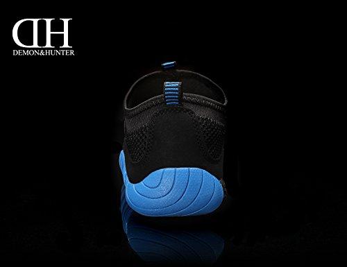 Demon&Hunter Hombre Azul Zapatos Escarprines S4L2519U Azul