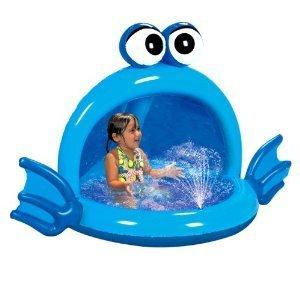 Banzai Living Playful Puffer Fish Spray Pool