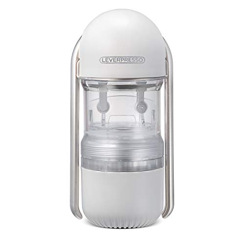 LEVERPRESSO : Portable Lever Espresso Maker(Non-Pressurized Filter)(Light Grey)