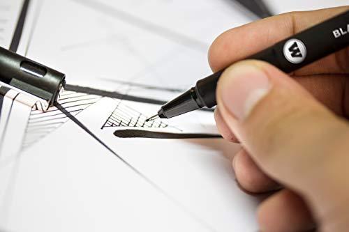 Molotow Blackliner Pen Complete Set, 11 Pens, 1 Set Each (200.485) by Molotow (Image #4)