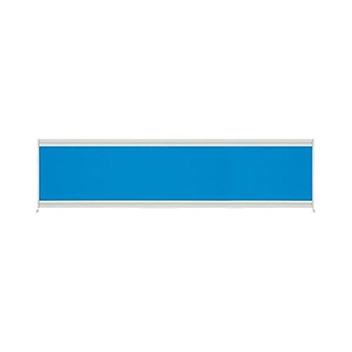 プラス UJデスクトップパネル UJ-164P-J BL W1600 生活用品 インテリア 雑貨 インテリア 家具 オフィス家具 パネル パーテーション top1-ds-1826531-ah [簡素パッケージ品] B06XQW4C8Z