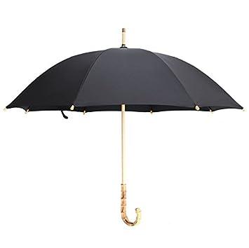 Baron W.H Paraguas antiguos rattan artesanal bambú largo mango PARAGUAS paraguas grandes negocios,negro