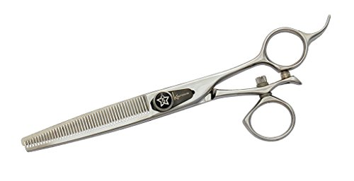 Kenchii Five Star Swivel 46 Tooth Grooming Thinning Shears / Scissors ()