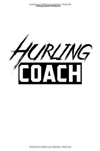 Hurling Spieler Notizbuch: 100 Seiten   Kariert   Fußball Ire Gälisch Irisch Sliotar Team Trainer Hurler Geschenk Hurl Fan Irland