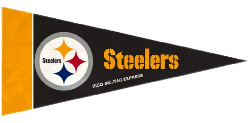 Pittsburgh Steelers Mini Pennants - 8 Piece - Pennant Pittsburgh Steelers
