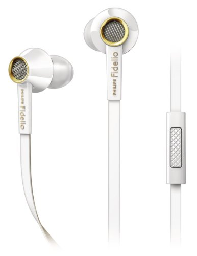 Philips Fidelio S2WT/28 In-Ear Headsets Earbuds - ...