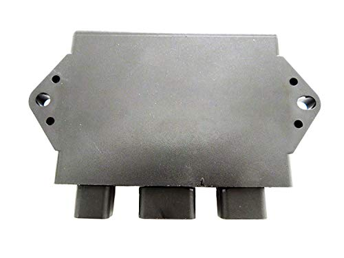(High Performance CDI box For Yamaha Rhino & Grizzly 660cc Black Rev Box)