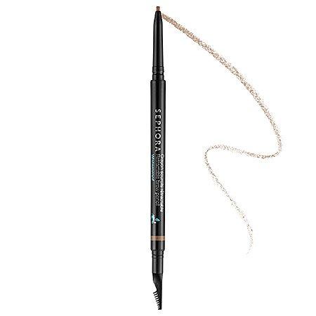 SEPHORA COLLECTION Retractable Brow Pencil - Waterproof (02 Nutmeg Brown)