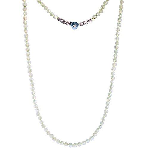 Sivalya CALMNESS Moonstone Gemstone Beads Necklace | Wrap - Gemstone Moonstone