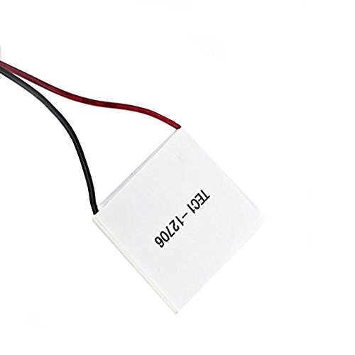 10Pcs TEC1-12706 40*40MM 12V 60W Heatsink Thermoelectric Cooler Cooling Peltier Plate Module by diymore (Image #5)