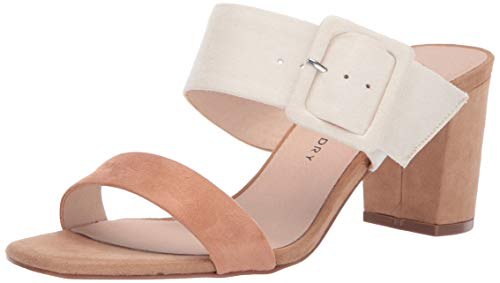Chinese Laundry Women's Yippy Heeled Sandal Cream Multi Suede 9 M US ()
