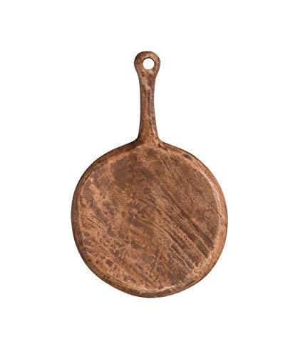 Creative Co-op Mango Wood Cheese/Cutting Board, Brown