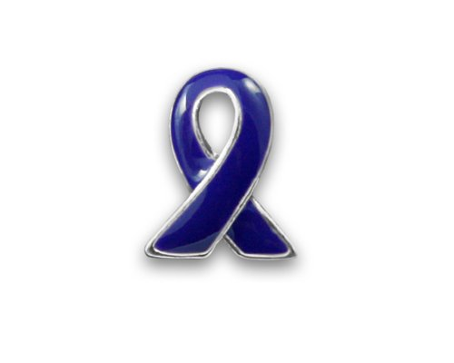 Hodgkin's Lymphoma Awareness Violet Ribbon Lapel Pin in Bag (1 Pin - Retail)