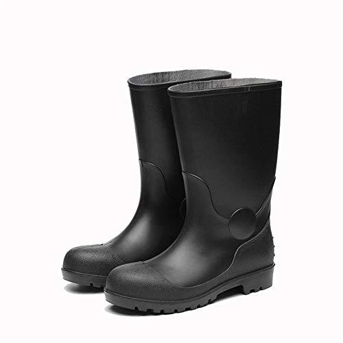 Styhatbag Boot Hunter Scarpe in PVC Scarpe in acciaio impermeabile scarpe antiscivolo e scarpe resistenti all'usura scarpe da acqua (Dimensione : 42 2/3 EU)