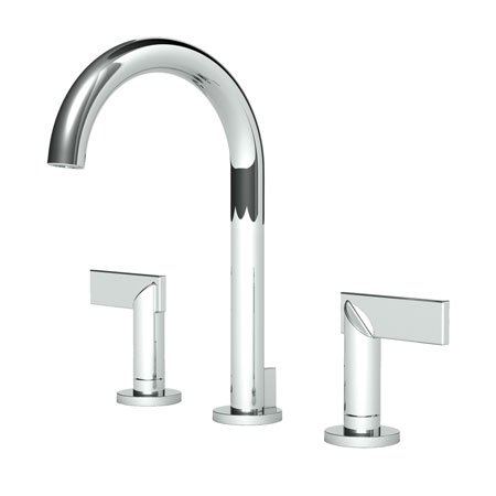 Newport Brass NB2480-26 Priya Polished Chrome Widespread Lavatory Faucet, Lever (Newport Brass Polished Faucet)