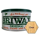 Briwax Furniture Wax Polish - Clear