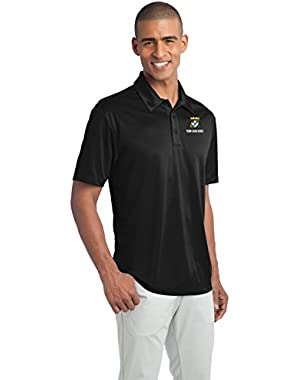Custom Embroidered Port Authority Polo Shirts - Free Logo Setup - Pack of 5