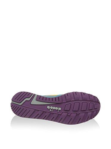Diadora N9000 Nyl, Sneaker Basse Unisex - Adulto Ghiaccio/Multicolore