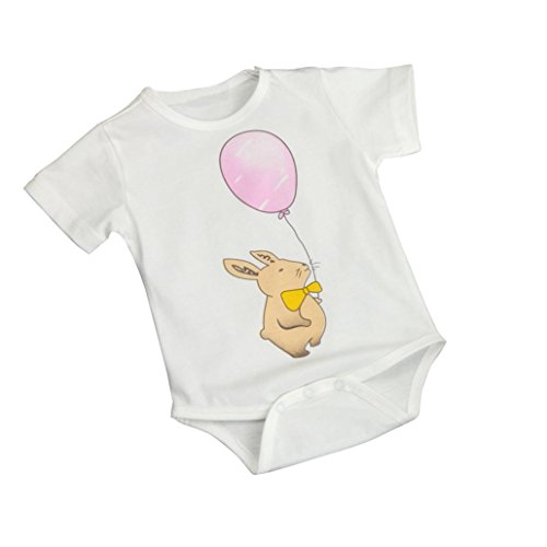 GBSELL Newborn Infant Baby Kids Girl Boy Cartoon Print Romper Jumpsuit Outfits Clothes (Rat balloon, 6/12M)