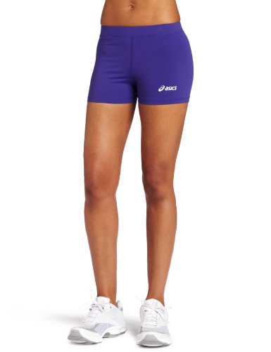 ASICS Women's Low Cut Short, Purple, Small