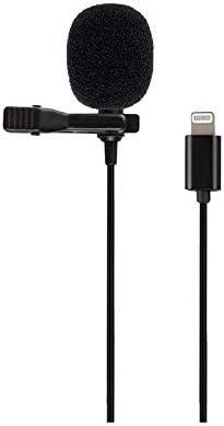 Aplicar para Smartphone videoc/ámara computador 3.5mm Anson Micr/ófono de Solapa Microphone Lavalier Micr/ófono Omnidireccional Mini Micr/ófono para Profesores anfitriones Youtubers