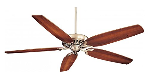 [Brushed Nickel 5 Blade 72In. Great Room Ceiling Fan - Wall Control And Blades Included] (72