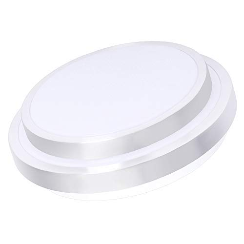 Drosbey 32W LED Ceiling Light, 14in Flush Mount Light Fixture, Lights for Bedroom, Kitchen, Bathroom, Hallway, 2700 Lumens, 5000K Daylight White, 240W Incandescent Bulbs Equivalent