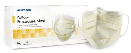 MCK91201150 - Mckesson Brand Procedure Mask McKesson Pleated Earloops One Size Fits Most by McKesson