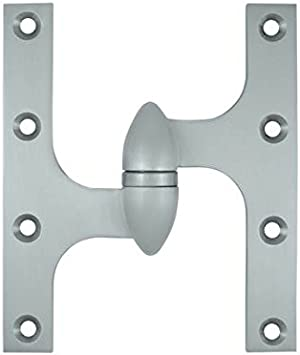 6 H X 5 W Surface Mount Single Door Hinge Handle Type Right Hand Finish Brushed Nickel