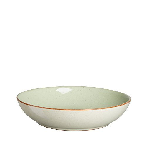Green Pasta Bowl - Denby Heritage Orchard Pasta Bowl, Green