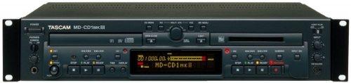 Tascam MDCD1-MKIII Combination Minidisc Recorder/CD Player