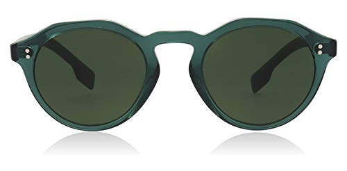 Burberry BE4280 377671 Green BE4280 Round Sunglasses Lens Category 3 Size 48mm
