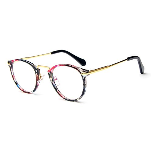 LOMOL Fashion Korean Personality Student Style Transparent Lens Frame Glasses For - Korean Spectacles