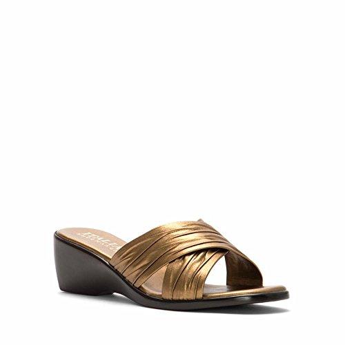 Sandal Slide Shoemakers Women's 168 Italian Bronze zq618pvw