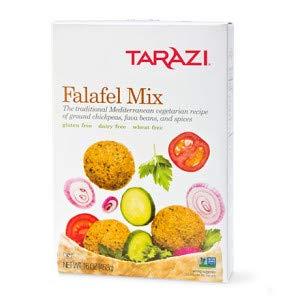 (Tarazi Falafel Mix | Great as Veggie Burger Mix, Non-GMO, Kosher, All Natural, Made In California | Original Falafel Mix, 1 Pound Box)