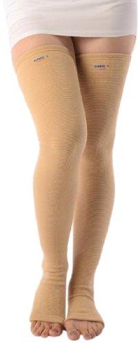 191eca34dd Buy Vissco Elastic Varicose Vein Stockings - Large Online at Low Prices in  India - Amazon.in