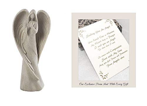 Sending You an Angel Statue to Express Sympathy for Funeral Or Memorial Comfort The Grieving for Loss of A Loved One