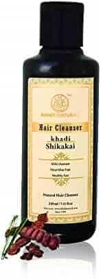 Khadi Natural Herbal Shikakai Shampoo/Cleanser, 210ml