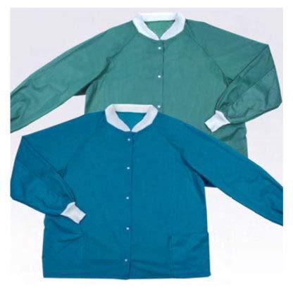 Molnlycke Barrier Warm-Up Jacket, Large, Blue 28020