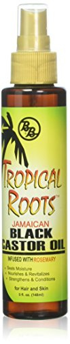 Bronner Brothers Tropical Roots Black Castor Oil, 5 Ounce