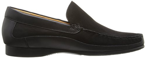 Mephisto Baduard Calf on Nubuck Black Loafer Men's Slip qSPxqF