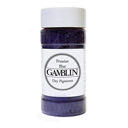 (Gamblin Dry Pigment 4 Oz Prussian Blue)