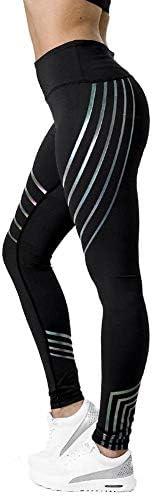 WolfGo アスレチック・パンツLトレーニングフィットネスレギンスパンツを実行している女性のスポーツジムヨガ