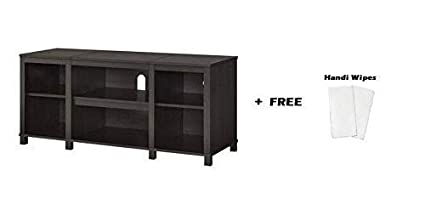 Amazon com: Mainstay   Parsons Cubby TV Stand Holds Up to 50