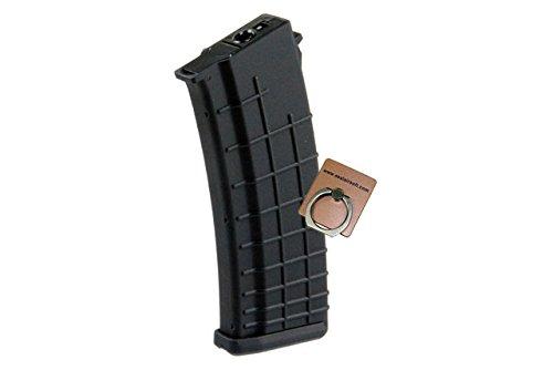 CYMA 450rd Bularia Airsoft Magazine For Marui Std AK47 AK74 AEG -Mobile Ring Included