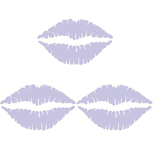 Iusun Wall Stickers Sexy Lips Fridge Pattern Window Wall Removable Art Vinyl -