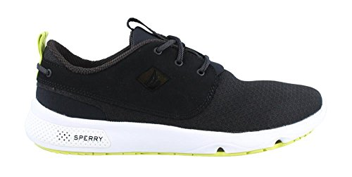 Sperry Mens, Fathom Boat Lace Up Shoes Black