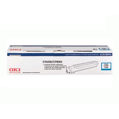 OKIDATAC9600/C9800 Cyan Toner Cartridge Type C7 Maximum Performance Longevity Cost-Effectiveness New ()